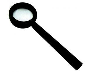 Лупа на ручке ЛПИ-464-7 х просмотровая пластмассовая, d-35мм