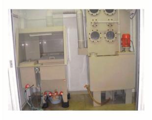 Химшкаф с системой фильтрации для работы с кислотами