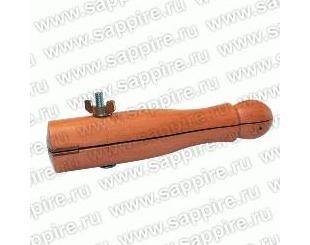 Тиски деревянные винтовые c накладками h=150 мм